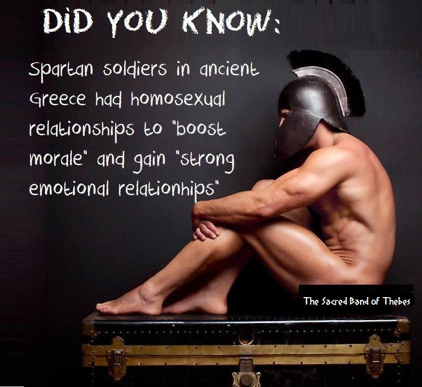 homosexuality in the spartan military