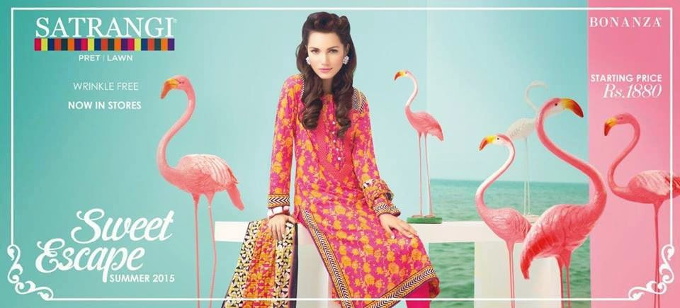 Satrangi spring summer collection 2015 fashion