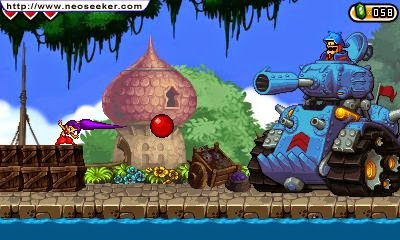 3DS Shantae and the Pirates Curse Screenshot