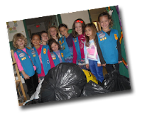 Girl Scouts of Nassau County's Sisters Helping Sisters During Sandy