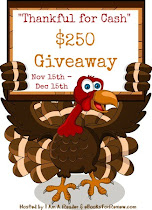 Thankful for #Cash $250 #Giveaway! NOW to 12-15! Click photo to enter!
