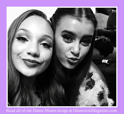 Maddie Ziegler and Kalani Hilliker, stars of Dance Moms on Lifetime