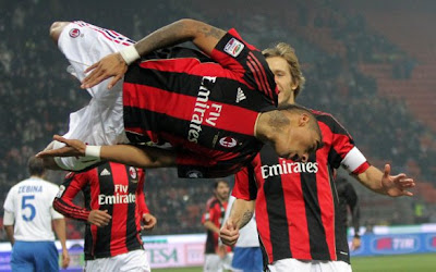 Boateng Celebration
