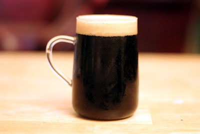 A cool frothy mug of Coffee Stout.