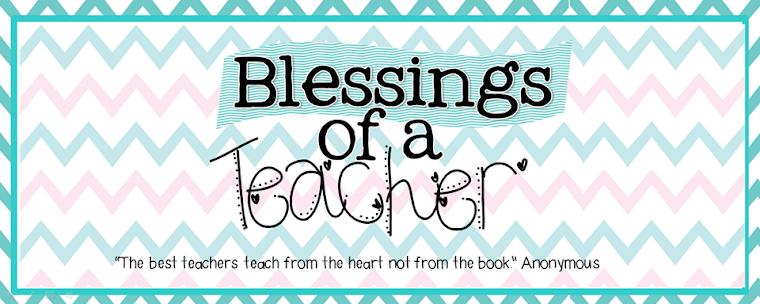 Blessings of a Teacher
