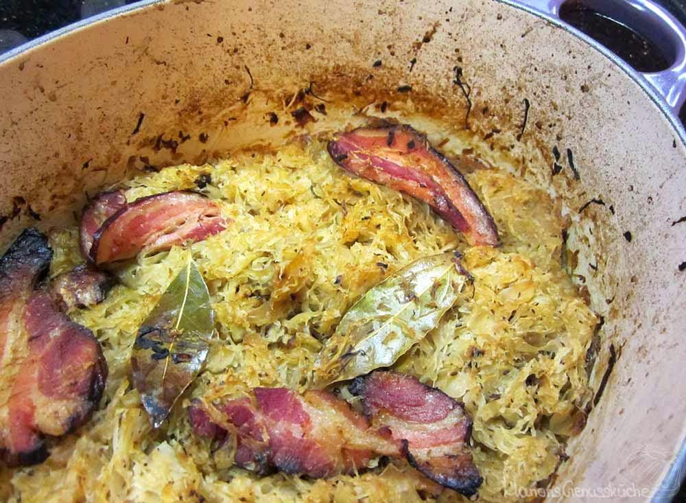 Sauerkraut aus dem Ofen nach Tim Mälzer