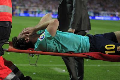 Preocupación en Barcelona ¡Se lesionó Messi!