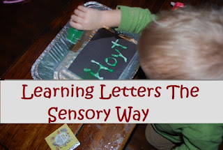 teach children, sensory learning, learning to read, letters