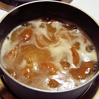 Apricots Beginning to Simmer