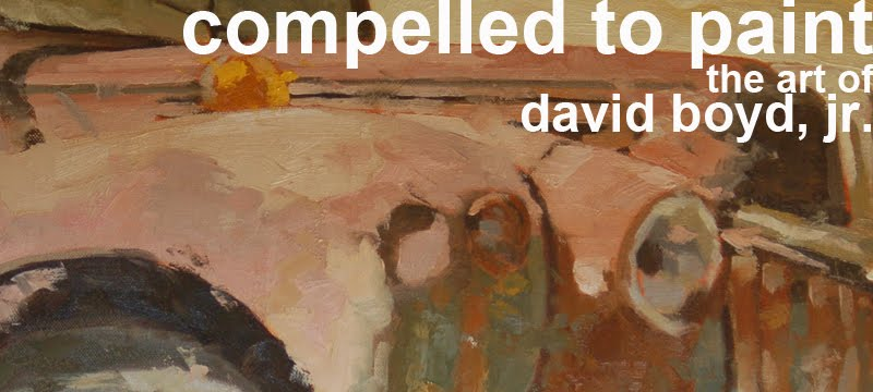 compelled to paint: the art of david boyd, jr.