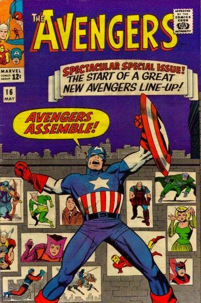 Avengers #16, Captain America