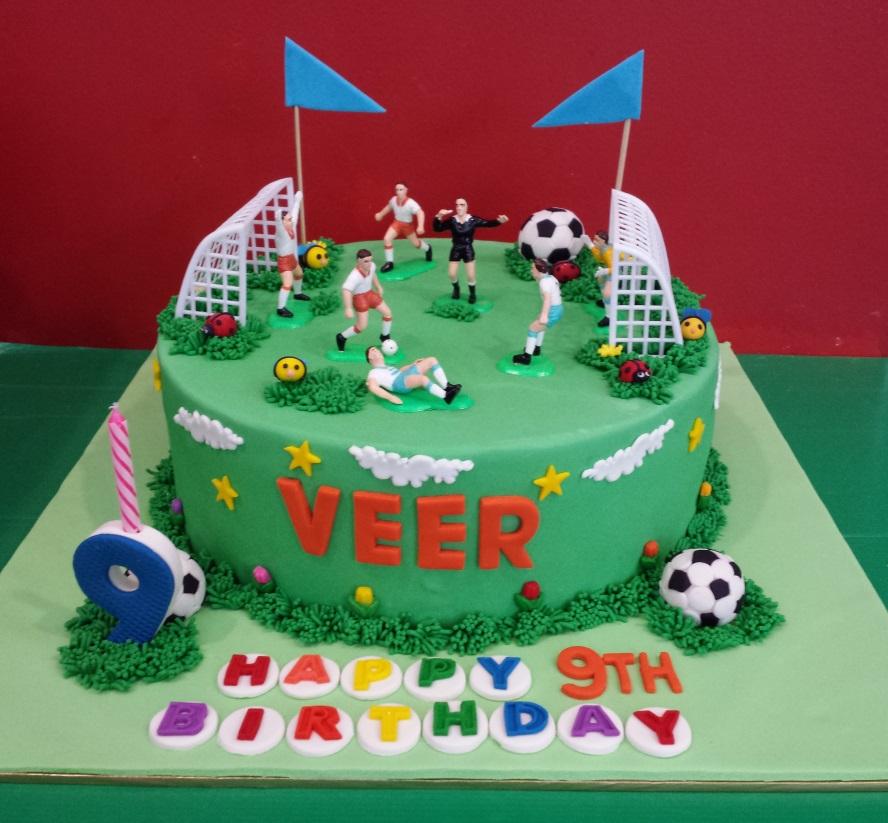 Cake Images Veer : Yochana s Cake Delight! : VEER S 9TH BIRTHDAY