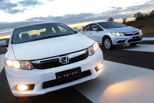 novo Honda Civic 2014 frente