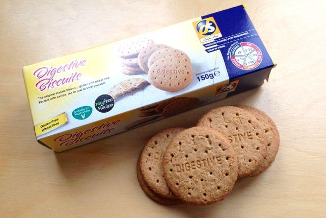 DS Gluten Free Digestives