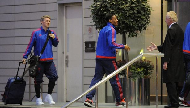 Strict: United players are forced to stay at the Lowry hotel before matches