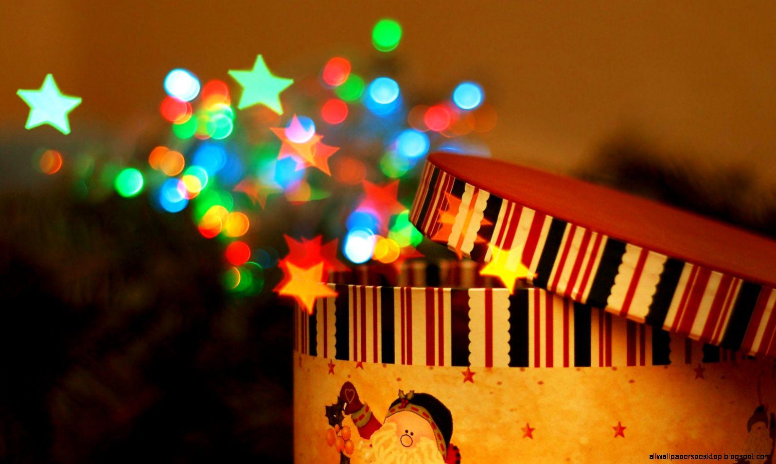 Stars Box Christmas New Year Hd Wallpaper
