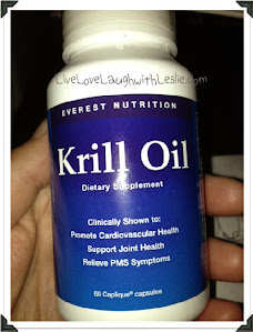 ♥Everest Nutrition~Krill Oil Giveaway! (1 bottle=60 capsules)