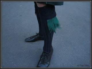 chaussettes kilt tartan
