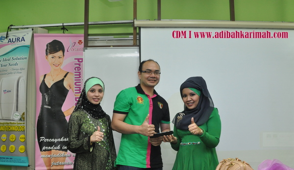 CDM Adibah Karimah celebration at B32 stockist, a new cdm in premium beautiful biz