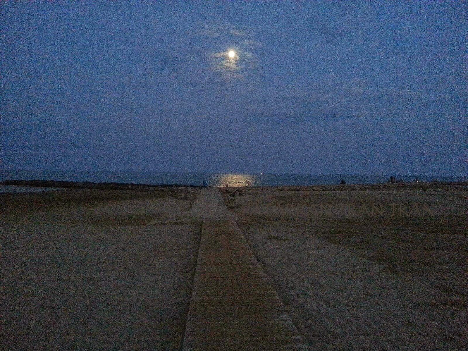 anochecer paseo Bernat Artola. Blessed Summer. Benicassim.