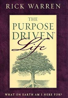 Rick Warren Purpose Driven Life book cover