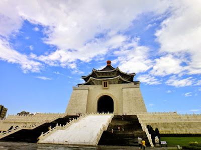 Chiang Kai Shek Memorial Hall in Taiwan