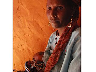 Dije Ousmana, 45, breastfeeding