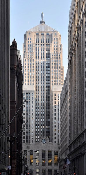 Chicago Board of Trade Building, Chicago, Illinois, United States