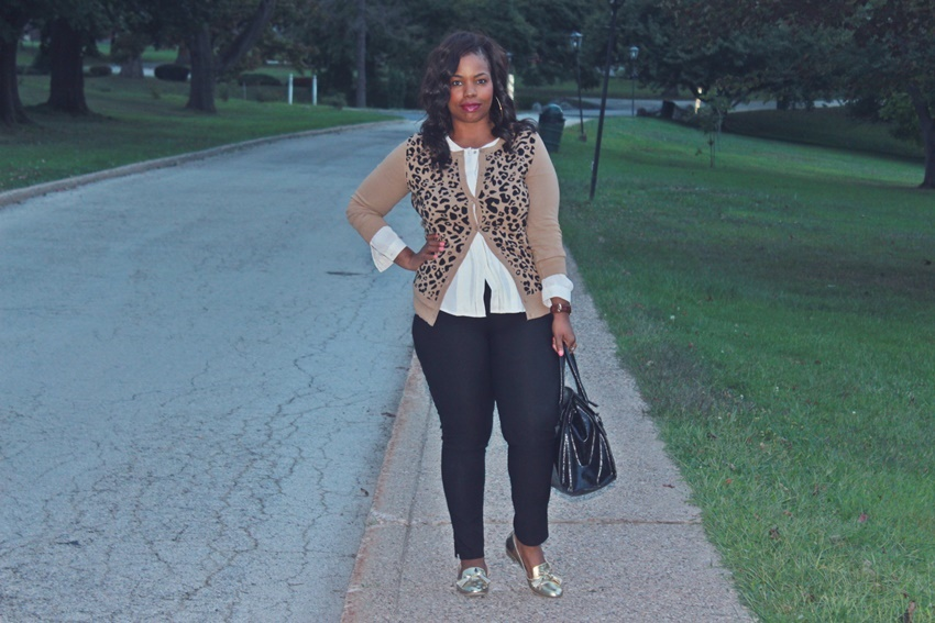 Beautyfash | a lifestyle blog.: Workwear: Leopard Print Cardigan