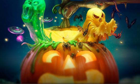Ilustración. 10 ilustraciones iberoamericanas para Halloween