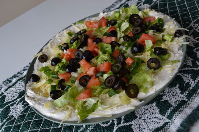 Organic Taco Dip Recipe