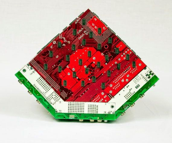 10-Watermelon-Steven-Rodrig-Upcycle-PCB-Sculptures-from-used-Electronics-www-designstack-co