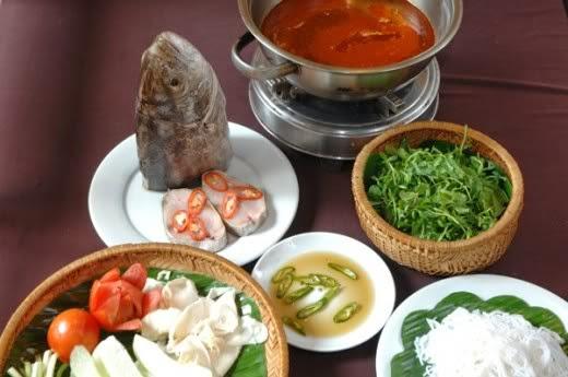 Grouper Fish Hotpot (Lau Ca Mu)