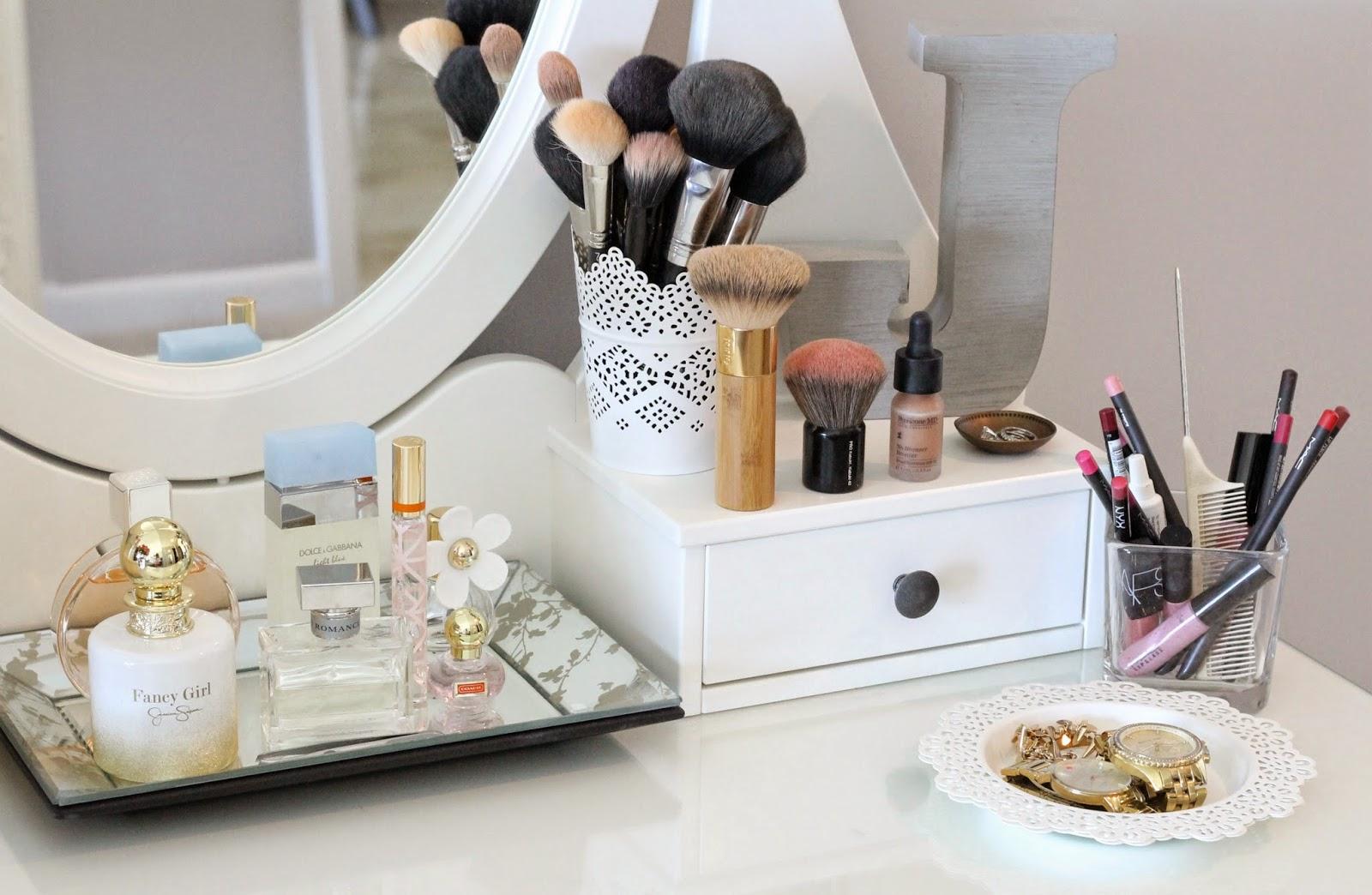 Diy makeup vanity ikea
