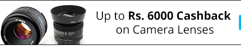 Buy Camera lenses Get  upto 6,000 cashabck Via paytm :buytoearn