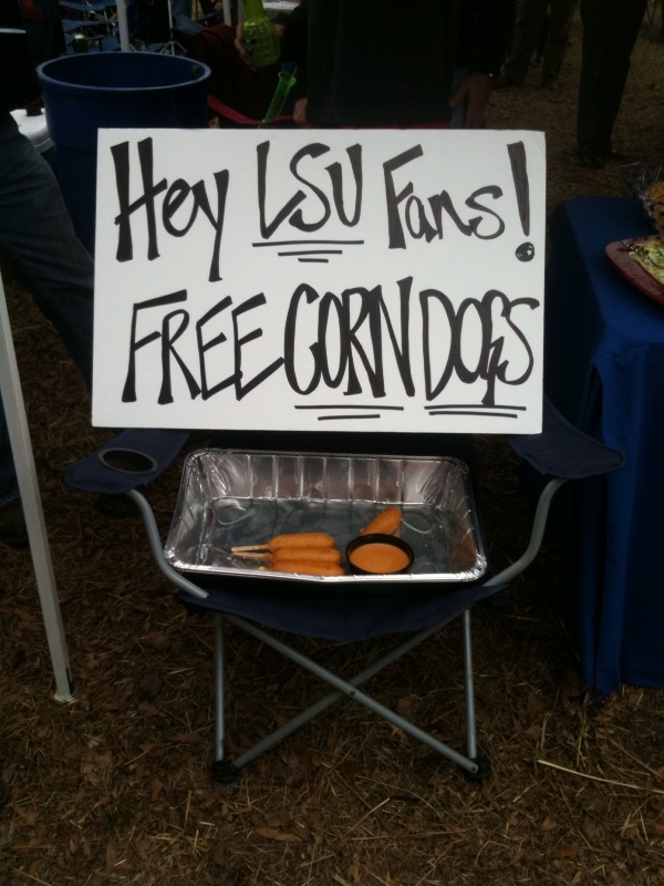 Free Corn Dogs!