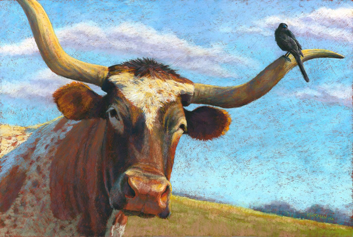 Longhorn Face Paint