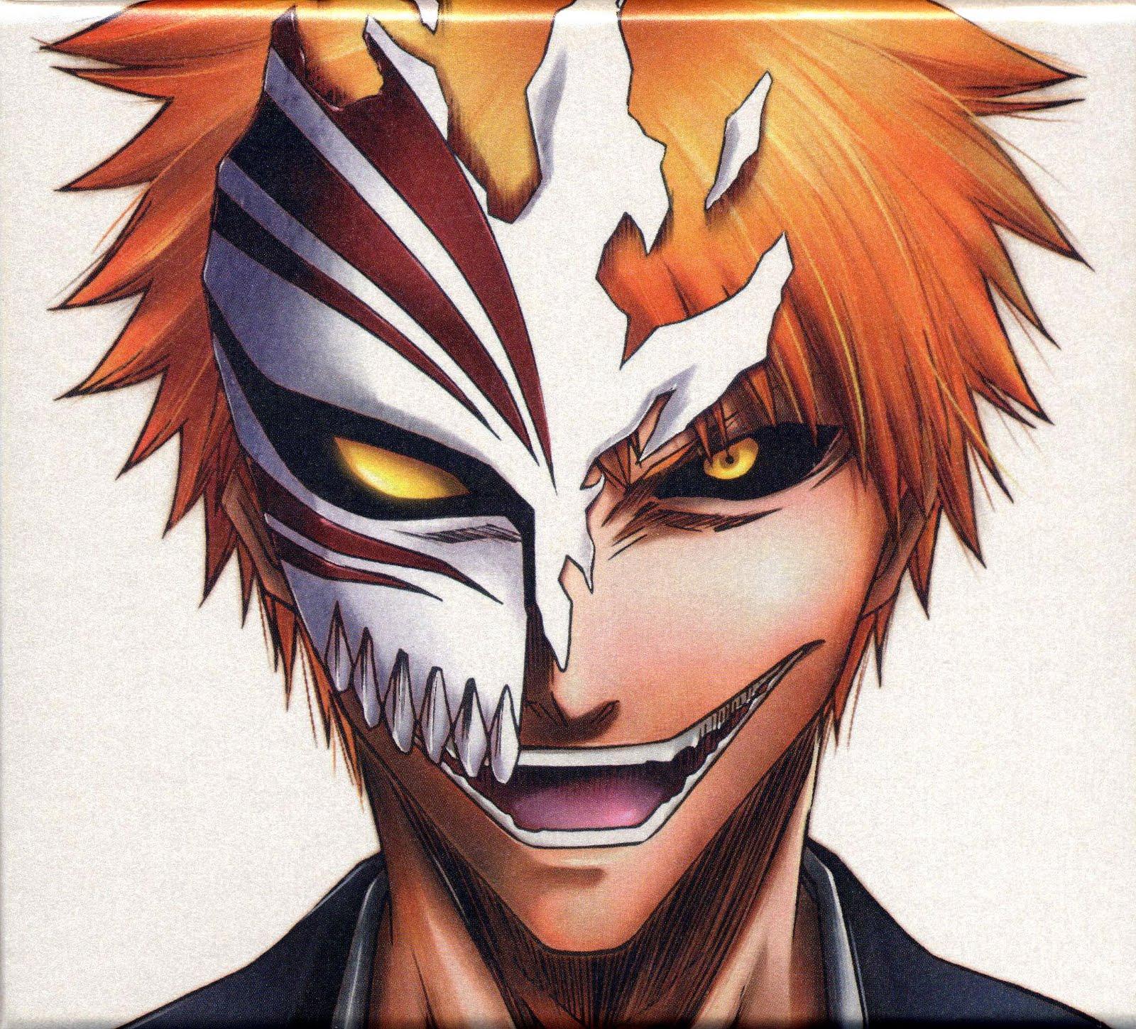 Gurly Things: Hollow Mask From Bleach (Ichigo) Makeup