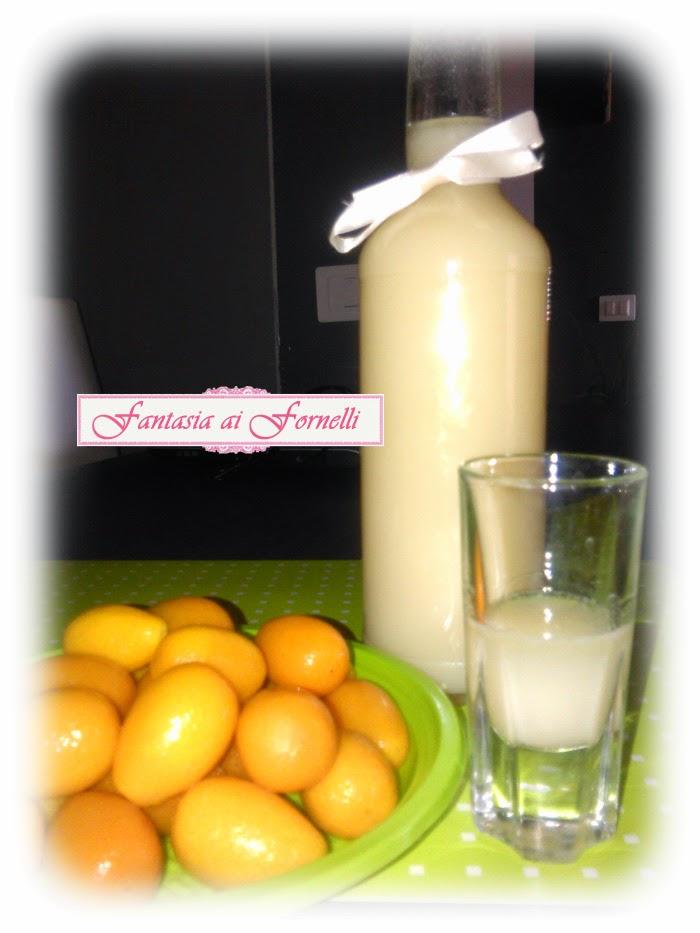 liquore al kumquat (mandarino cinese)