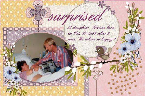 April 2016 – Surprised , A daughter
