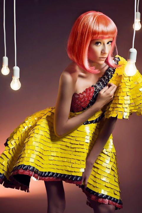 Paper fashion dresses | Futuristic style - Sylwia Lewandowska