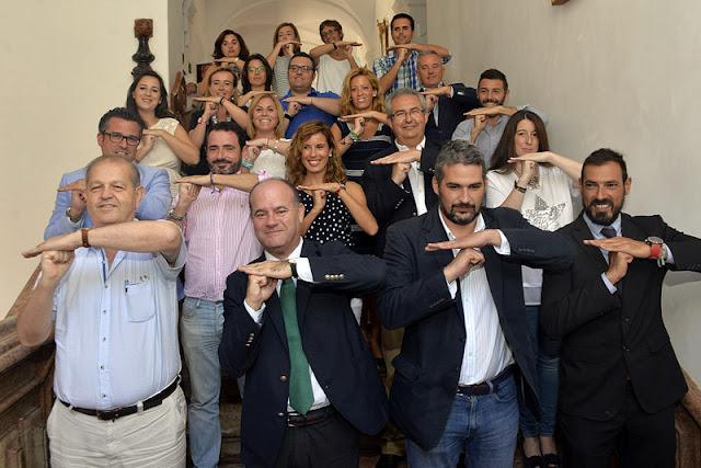 Dolmenes de Antequera suman el apoyo de toda la Corporación Municipal