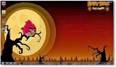 Free Download Angry Birds Theme For Windows 7 and Windows 8