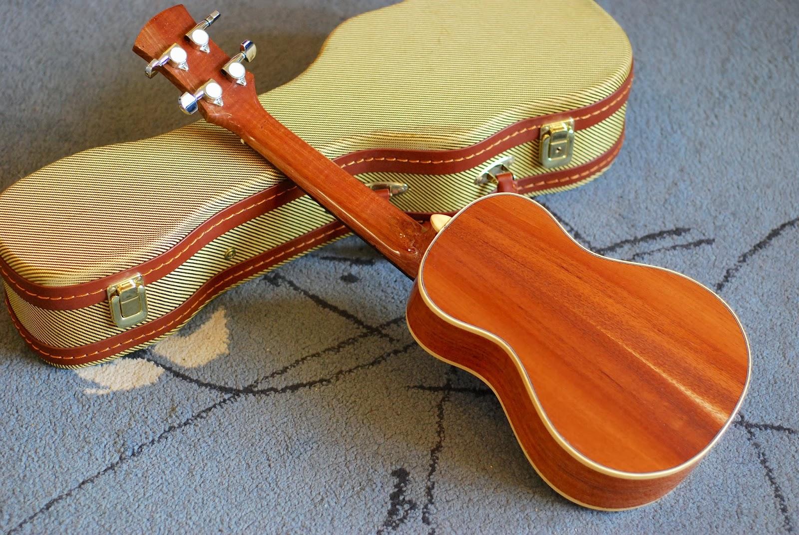 Noah mahogany concert ukulele back