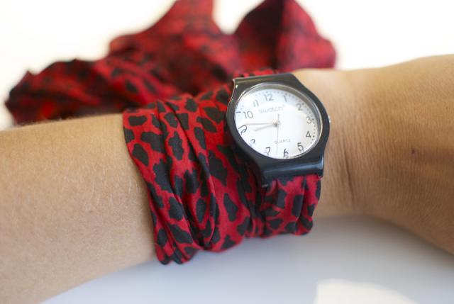 Как сделать наручные часы самой