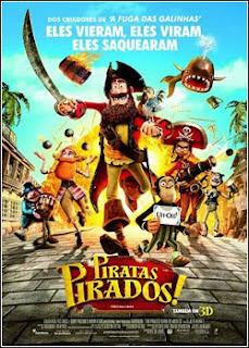 Assistir Filme Piratas Pirados! Dublado Online