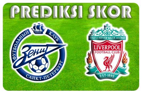Prediksi Hasil Skor Liverpool Vs Zenit Petersbug