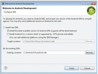 Installing the ADT Plugin