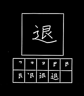 kanji mengundurkan diri