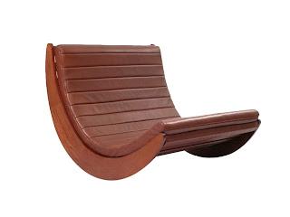Mecedora de diseño moderno Verner Panton